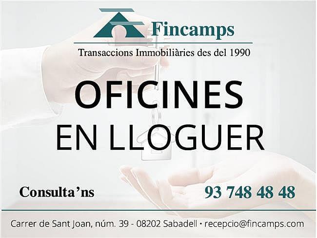 Oficina en alquiler en Sabadell - 305141511