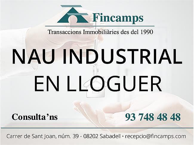 Local comercial en alquiler en Gracia en Sabadell - 377506185