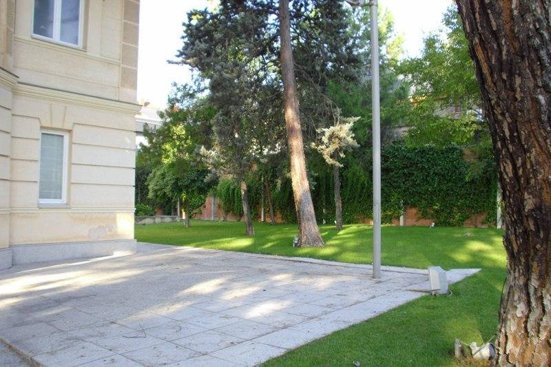 Jardín - Oficina en alquiler en calle Arturo Soria, Concepción en Madrid - 120676412