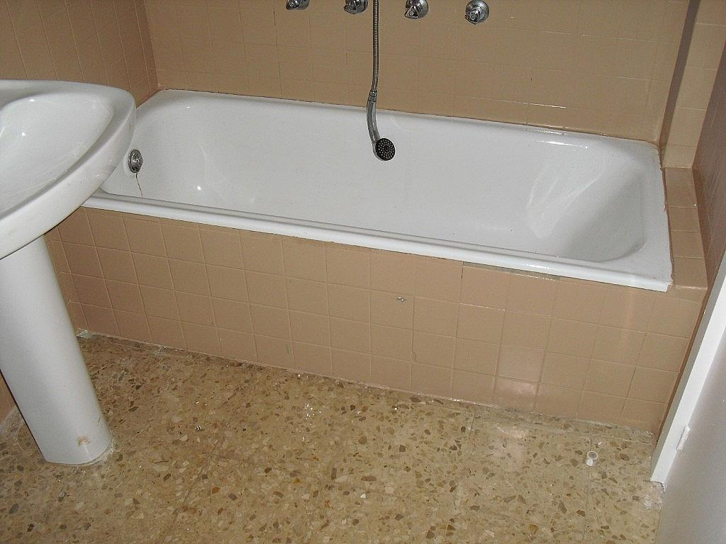 Baño - Piso en alquiler en Cubas-Industria en Albacete - 260596056
