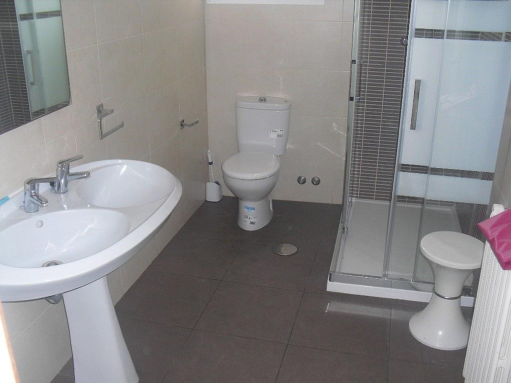 Baño - Piso en alquiler en calle Teodoro Camino, Centro en Albacete - 269052409
