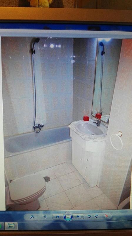 Baño - Apartamento en alquiler en calle Jose Echegaray, San Pablo en Albacete - 329607603