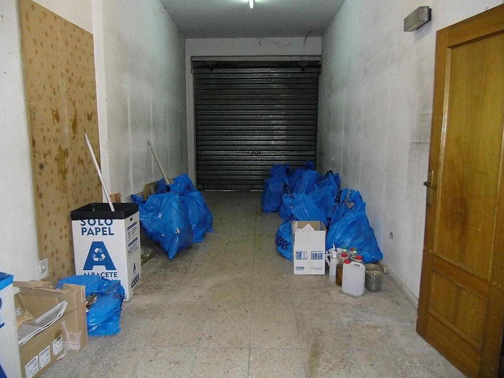 Garaje - Local comercial en alquiler en calle Feria, Feria en Albacete - 161557510