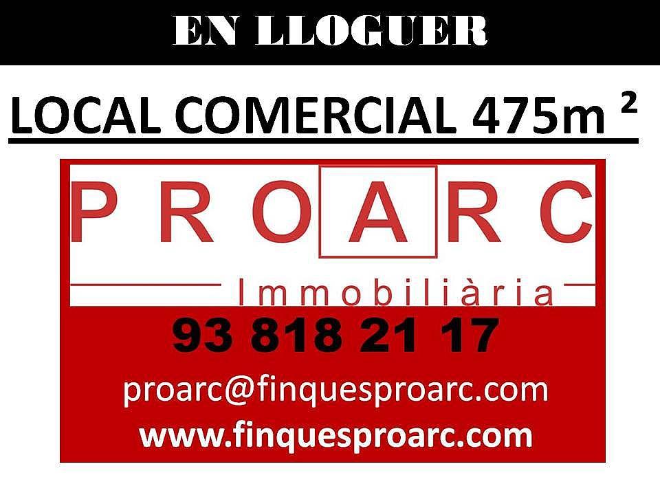 Local comercial en alquiler en calle Comercial, Molí d´en rovira en Vilafranca del Penedès - 284781321