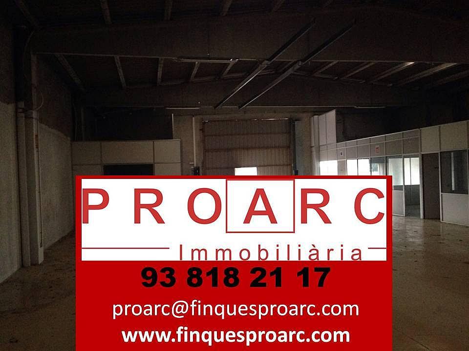 Nave industrial en alquiler en calle Proarc Immobiliària, Centre vila en Vilafranca del Penedès - 217184706