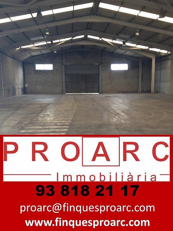 Nave en alquiler en calle Proarc Immobiliària, Centre vila en Vilafranca del Penedès - 217169332