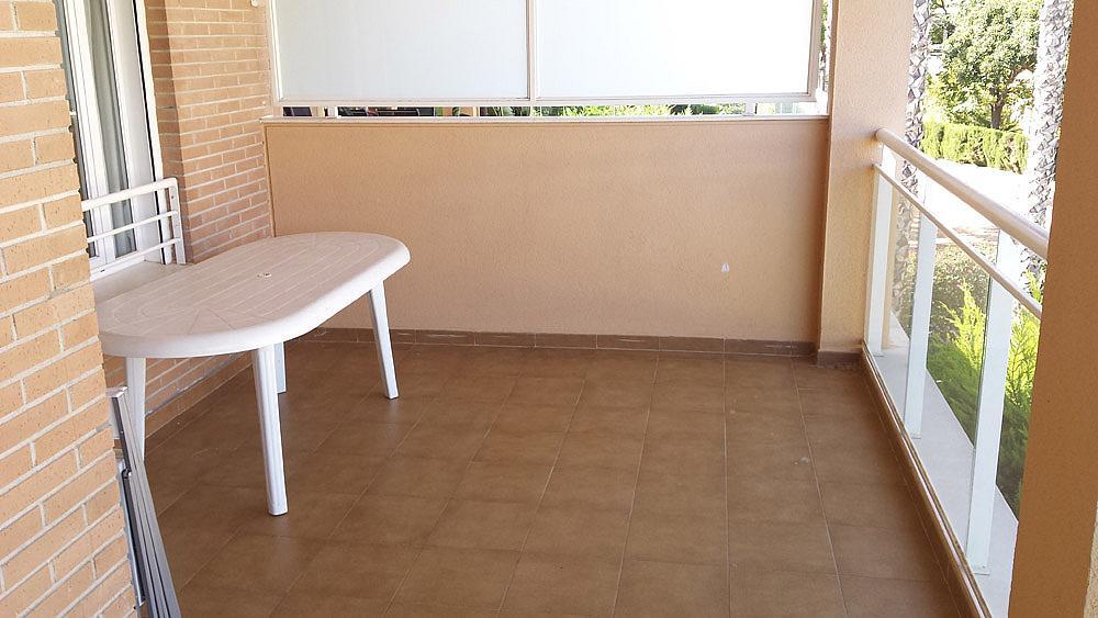 Terraza - Ático-dúplex en alquiler de temporada en calle Ermita Nova, Godella - 331321477