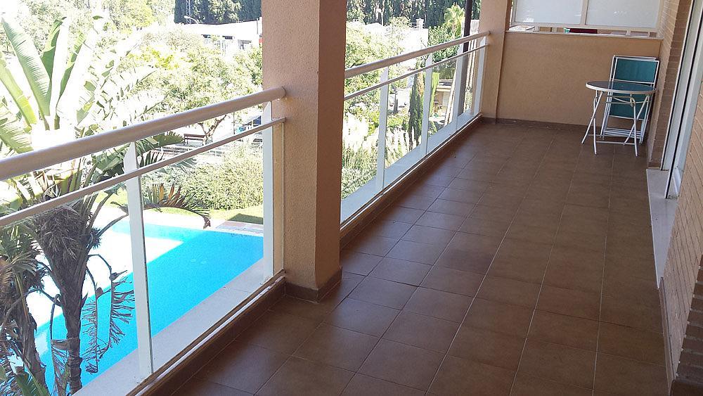 Terraza - Ático-dúplex en alquiler de temporada en calle Ermita Nova, Godella - 331321482