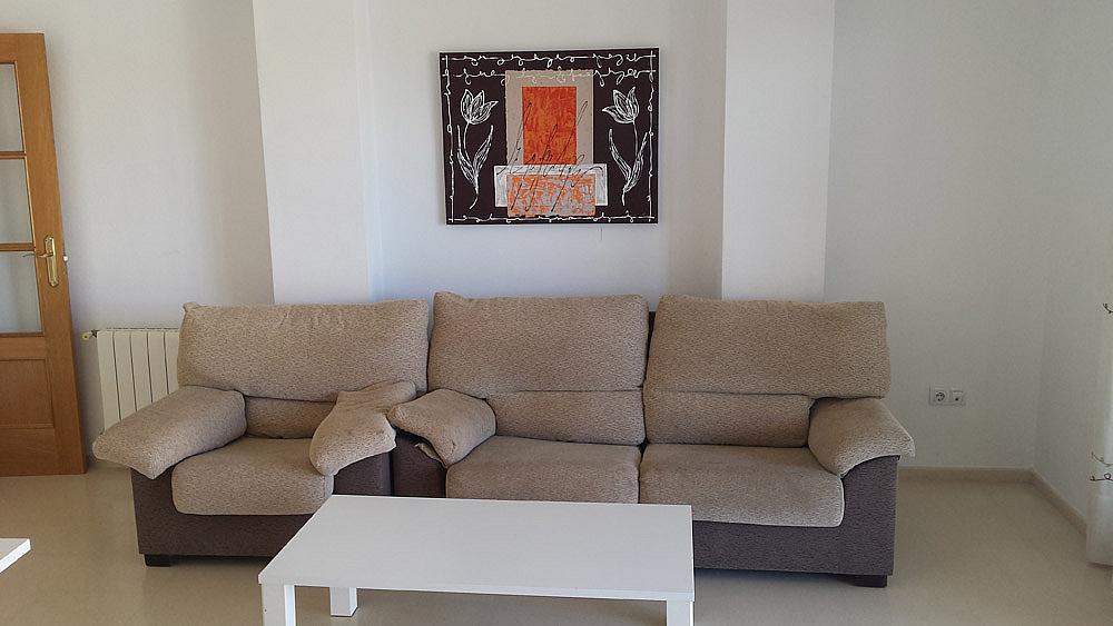 Salón - Ático-dúplex en alquiler de temporada en calle Ermita Nova, Godella - 331321491