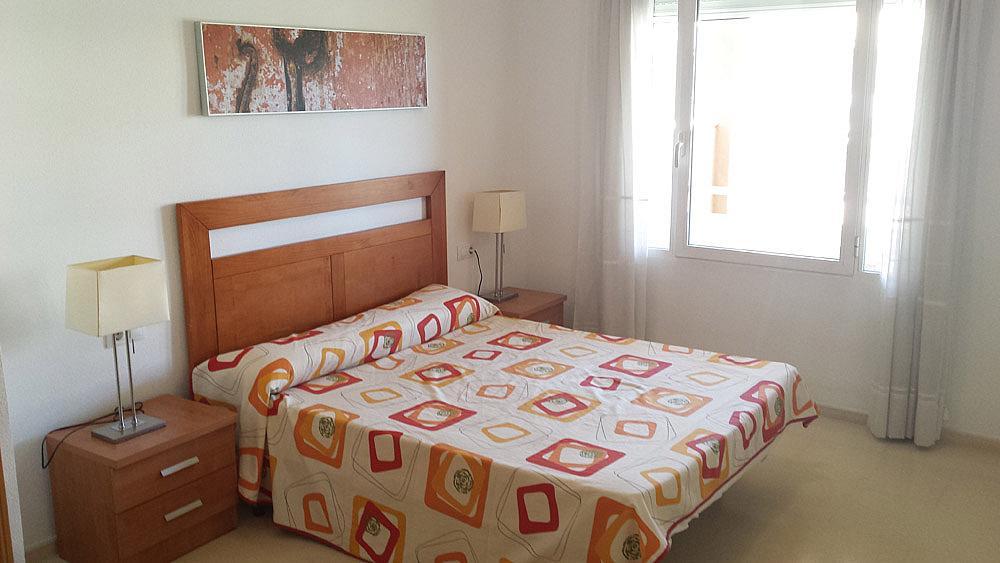 Dormitorio - Ático-dúplex en alquiler de temporada en calle Ermita Nova, Godella - 331321500