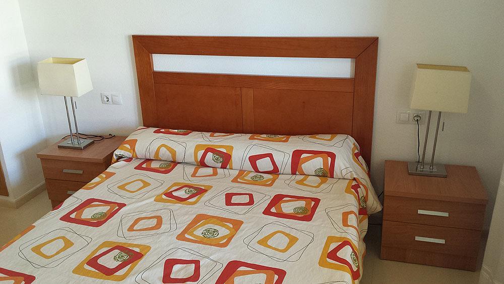 Dormitorio - Ático-dúplex en alquiler de temporada en calle Ermita Nova, Godella - 331321503