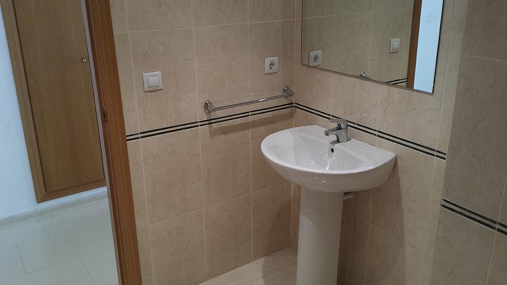Baño - Ático-dúplex en alquiler de temporada en calle Ermita Nova, Godella - 331321538