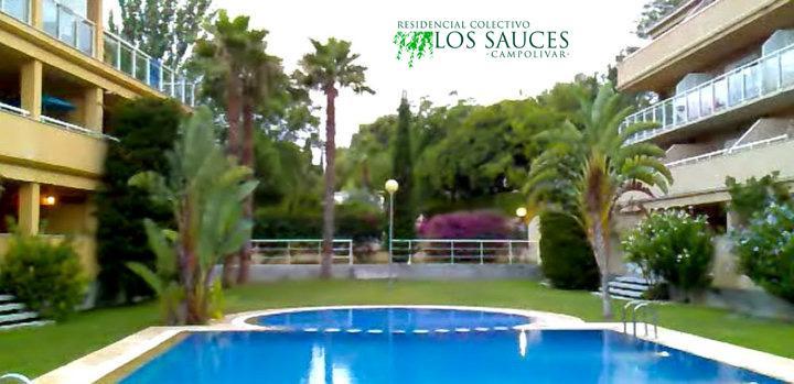 Piscina - Ático-dúplex en alquiler de temporada en calle Ermita Nova, Godella - 58375364