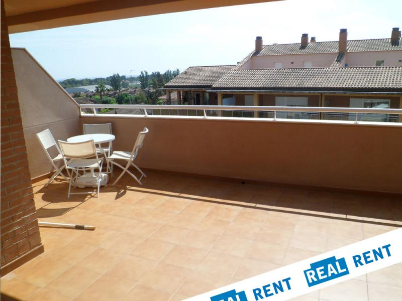 Terraza - Apartamento en alquiler de temporada en calle Ermita Nova, Campo Olivar - 89959907