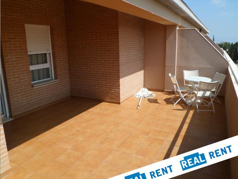 Terraza - Apartamento en alquiler de temporada en calle Ermita Nova, Campo Olivar - 89959911