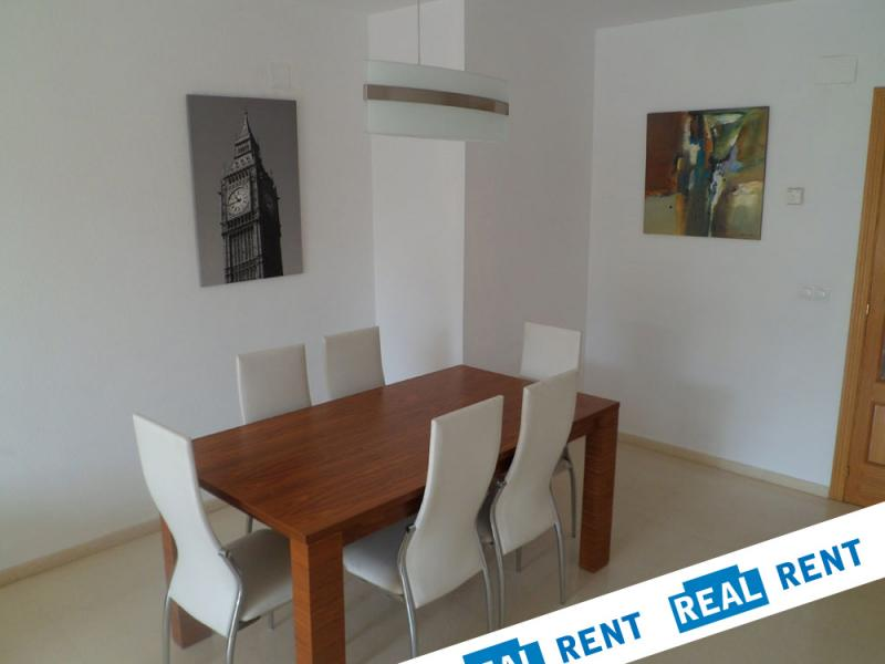 Comedor - Apartamento en alquiler de temporada en calle Ermita Nova, Campo Olivar - 89959914