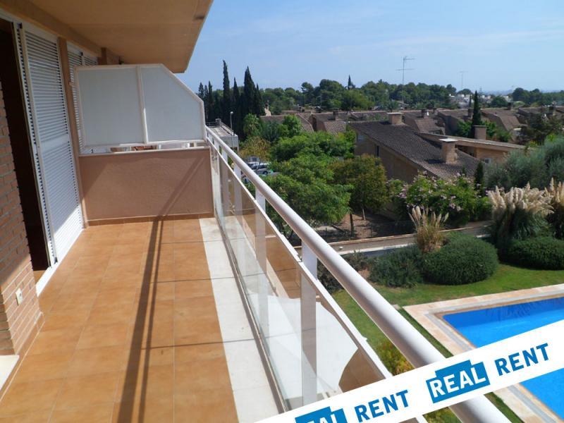 Terraza - Apartamento en alquiler de temporada en calle Ermita Nova, Campo Olivar - 89959918