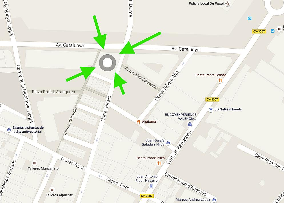 Parking en alquiler en calle Picaio, Puçol - 238770768