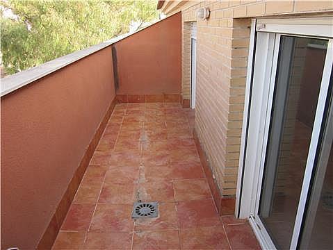 Terraza - Piso en alquiler en calle Pajarios, Alberca, La - 279430876
