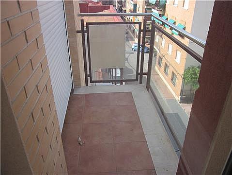 Balcón - Piso en alquiler en calle Pajarios, Alberca, La - 279430884