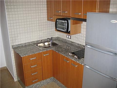 Cocina - Estudio en alquiler en calle Ciudad de Almeria, La Purisima - Barriomar en Murcia - 305621913