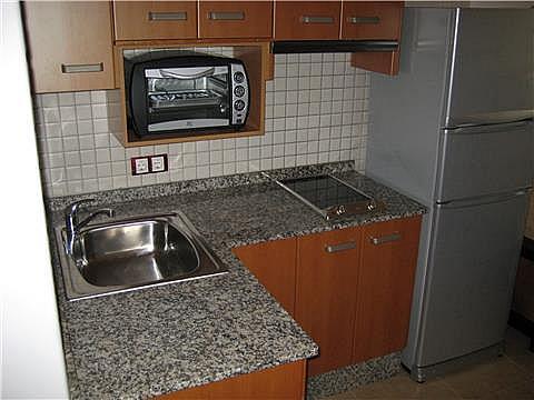 Cocina - Estudio en alquiler en calle Ciudad de Almeria, La Purisima - Barriomar en Murcia - 305621915