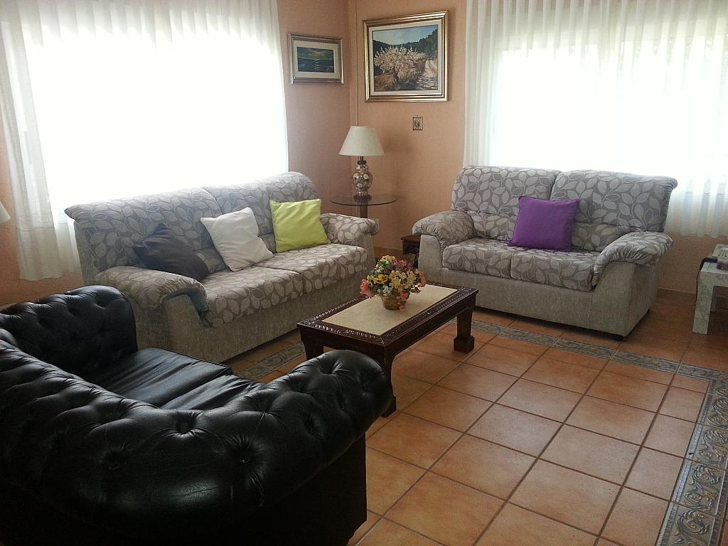 Salón - Chalet en alquiler en calle Mirasierra, Alberca, La - 325262734