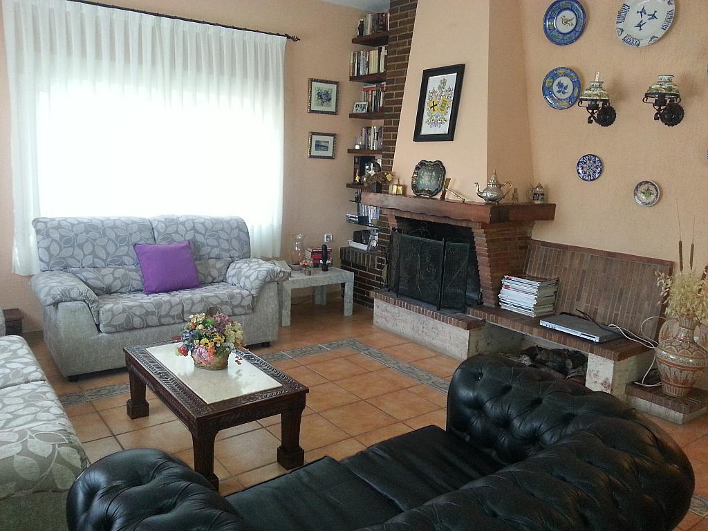 Salón - Chalet en alquiler en calle Mirasierra, Alberca, La - 325262740