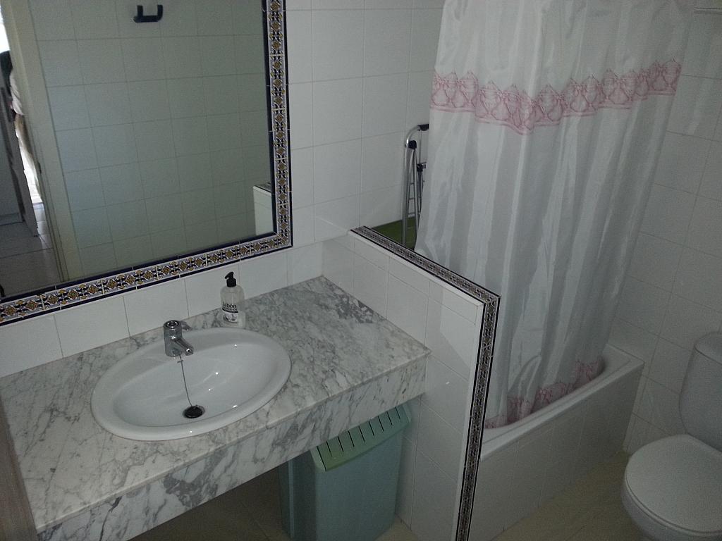 Baño - Chalet en alquiler en calle Mirasierra, Alberca, La - 325262749