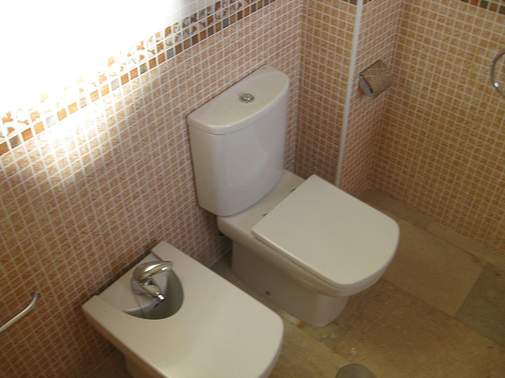Baño - Piso en alquiler en calle Huerto de Las Bombas, Santa Maria de Gracia en Murcia - 327572553