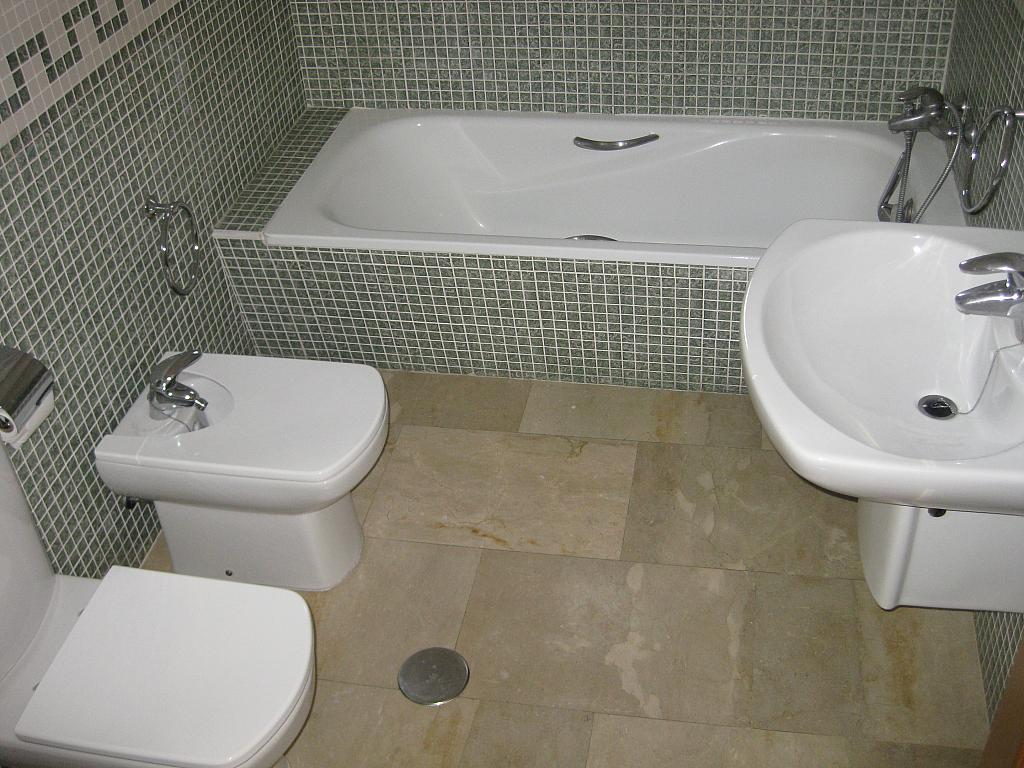 Baño - Piso en alquiler en calle Huerto de Las Bombas, Santa Maria de Gracia en Murcia - 327572556