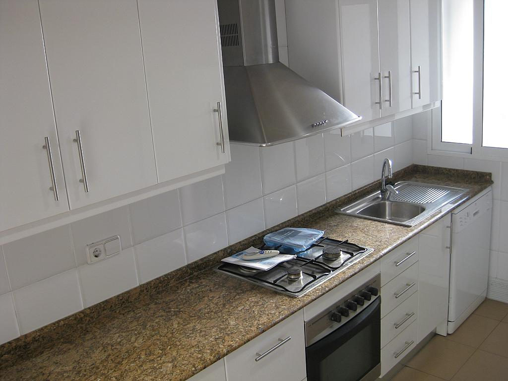 Cocina - Piso en alquiler en calle Huerto de Las Bombas, Santa Maria de Gracia en Murcia - 327572563