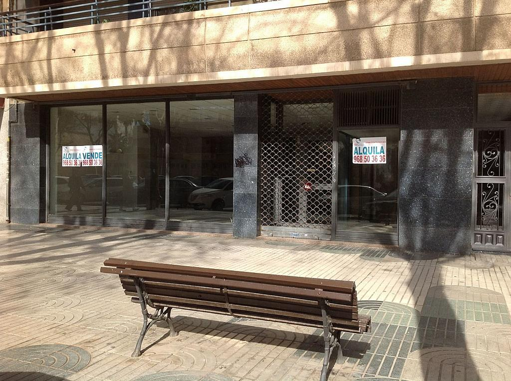 Local comercial en alquiler en paseo Alfonso XIII, Ensanche en Cartagena - 342648706