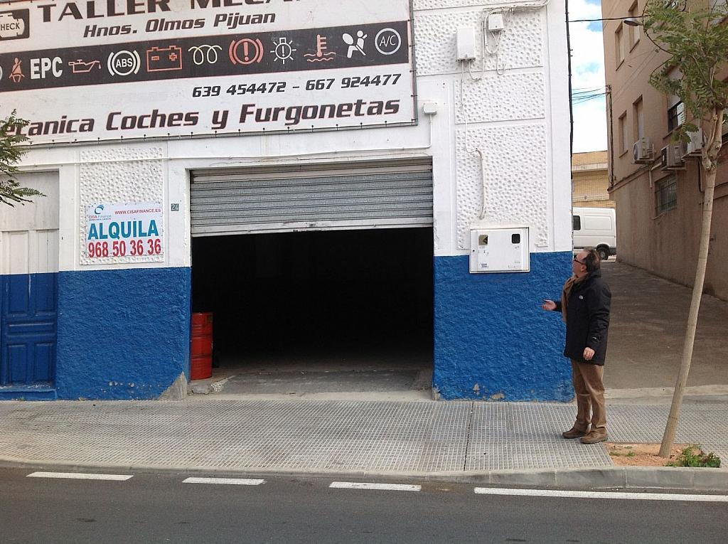 Local comercial en alquiler en calle Floridablanca, El Plan en Cartagena - 342648859