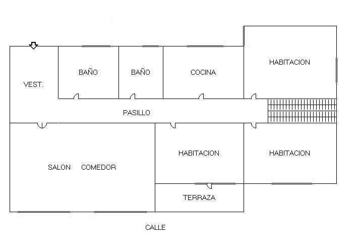 Plano - Piso en alquiler en paseo Marques de Zafra, Salamanca en Madrid - 139546487