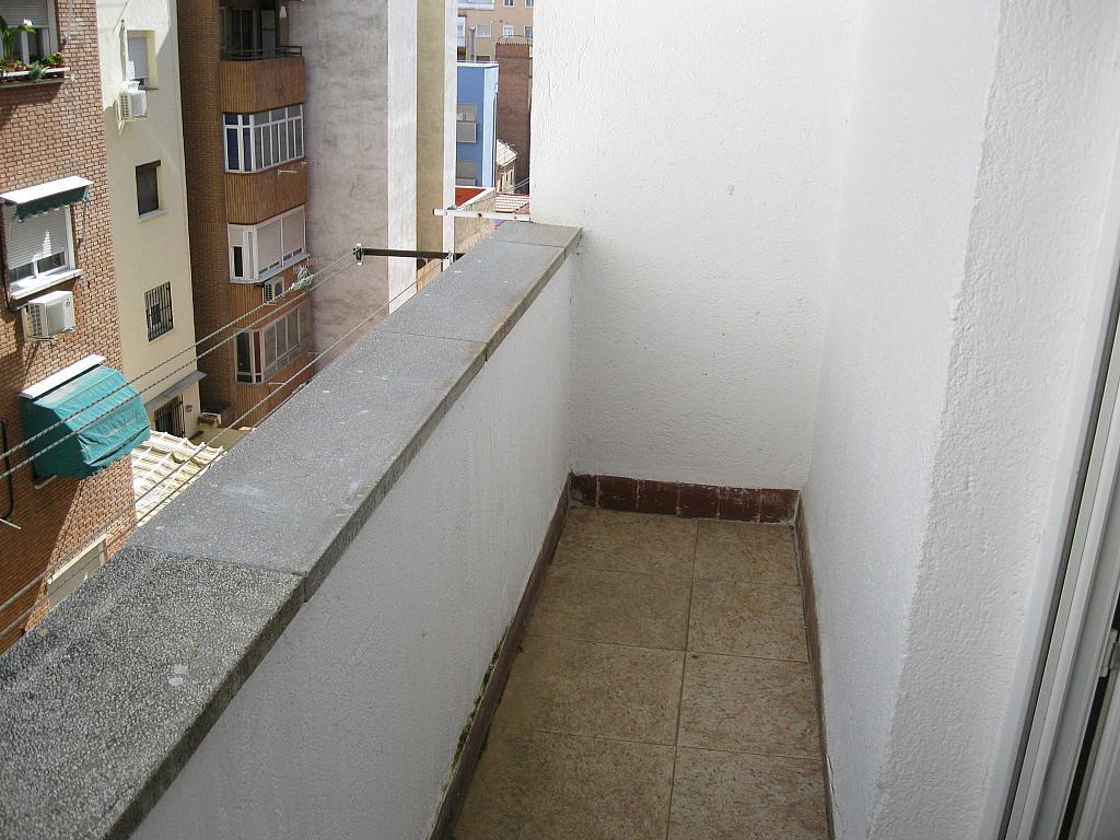 Terraza - Piso en alquiler en paseo Marques de Zafra, Salamanca en Madrid - 139546492