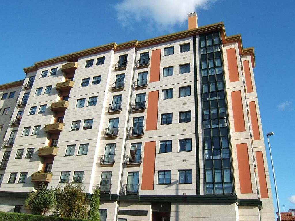 Fachada - Parking en alquiler en calle Luis Pita, Los Castros-Castrillón-Eiris en Coruña (A) - 325804806