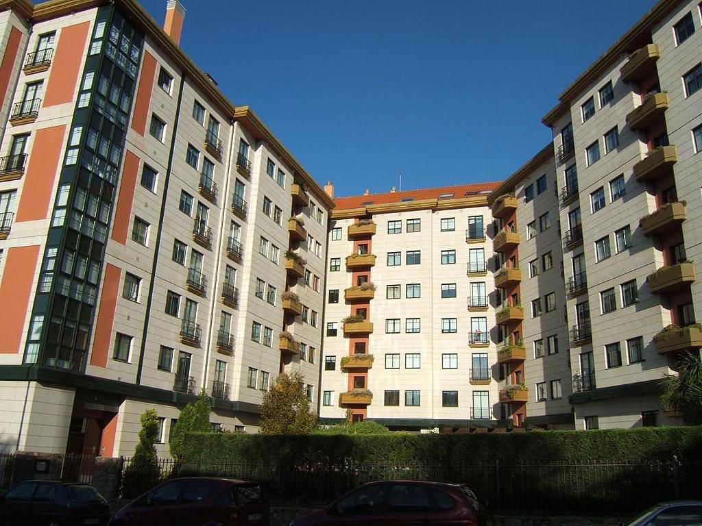 Fachada - Parking en alquiler en calle Luis Pita, Los Castros-Castrillón-Eiris en Coruña (A) - 325804878