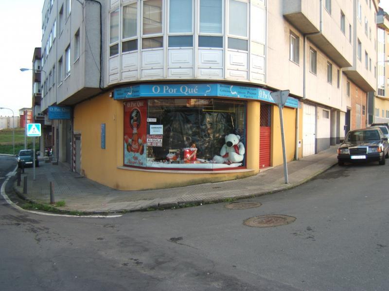 Fachada - Local comercial en alquiler en calle Torrente Baallester, Arteixo - 105442771