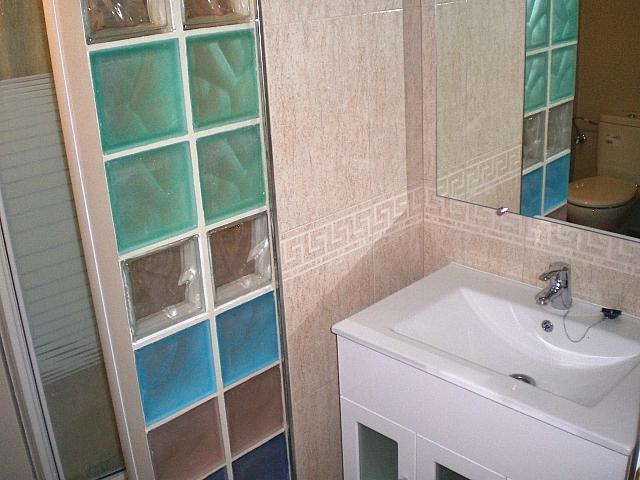 Baño - Local comercial en alquiler en calle Azahar, Castillejos en Madrid - 296603643