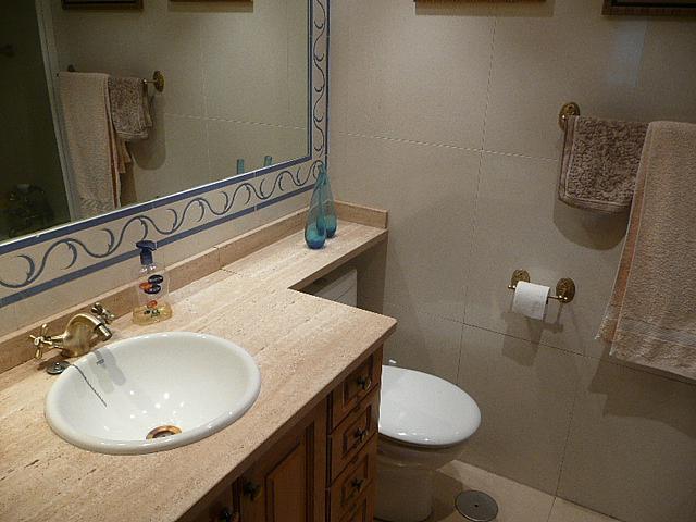 Baño - Piso en alquiler en calle Francisco Valiño, Escorial (El) - 246862932