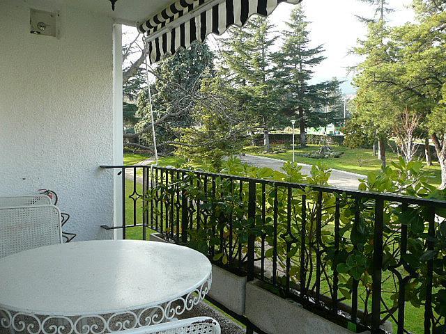 Terraza - Piso en alquiler en calle Francisco Valiño, Escorial (El) - 246862936