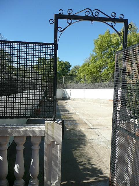 Jardín - Casa pareada en alquiler opción compra en calle Francisco Valiño, Valdemorillo - 217452742