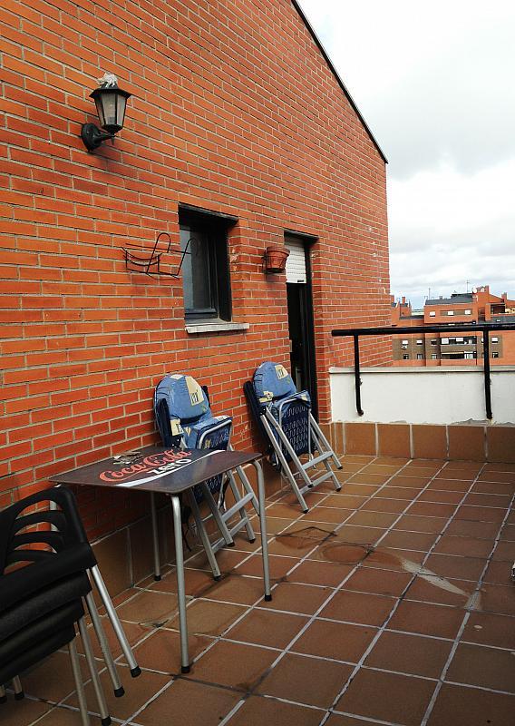 Terraza - Ático en alquiler en calle Albacete, La Avanzada-La Cueva en Fuenlabrada - 355068433