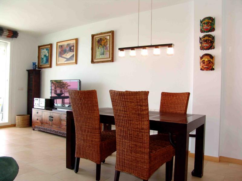 Comedor - Apartamento en venta en calle Paseig de la Mar Mediterranea, Maritim en Cubelles - 117342068