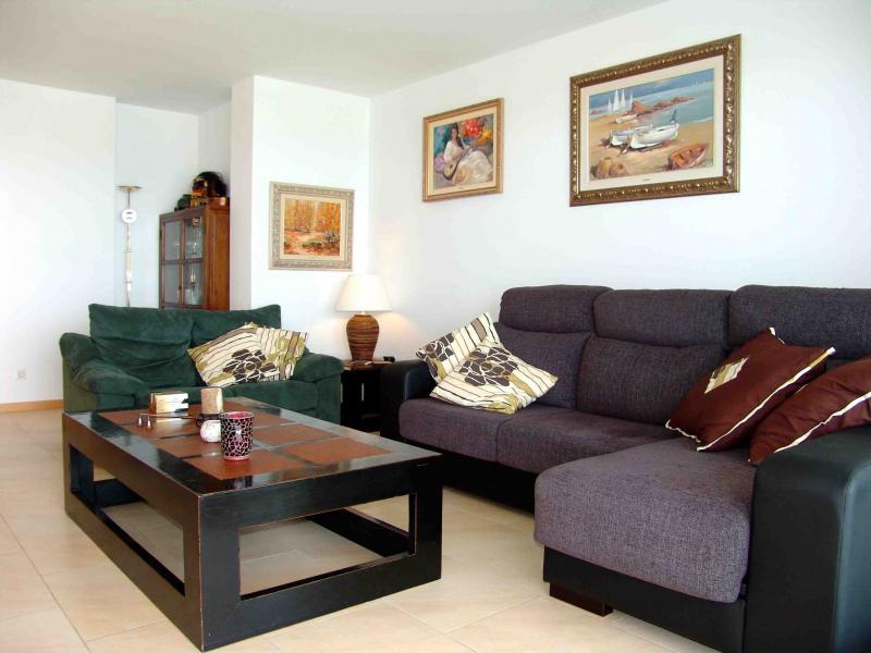 Salón - Apartamento en venta en calle Paseig de la Mar Mediterranea, Maritim en Cubelles - 117342070