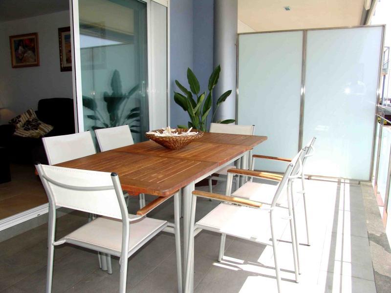 Terraza - Apartamento en venta en calle Paseig de la Mar Mediterranea, Maritim en Cubelles - 117342076