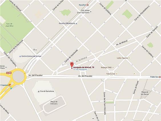 Local en alquiler en calle Mistral, Sant Antoni en Barcelona - 262047459