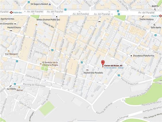 Local en alquiler en calle Roser, El Poble Sec-Montjuïc en Barcelona - 323846380
