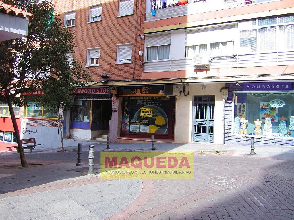 Fachada - Local comercial en alquiler en calle Soria, Centro-Casco Antiguo en Alcorcón - 268609554